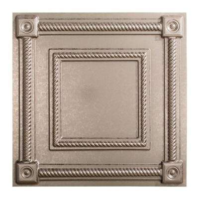 Coffer - 2 ft. x 2 ft. Lay-in Ceiling Tile in Galvanized Steel