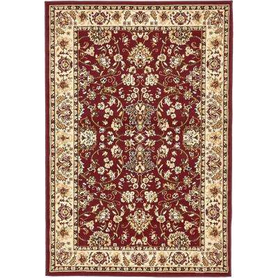 Red 4 X 6 Area Rugs The Home Depot