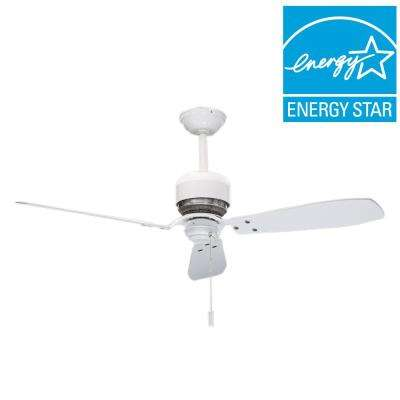 Tribeca 52 in. Indoor Snow White Ceiling Fan