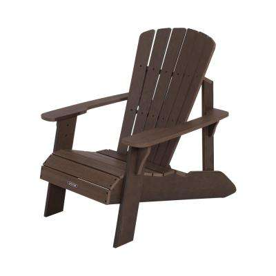 Rustic Brown Adirondack Chair