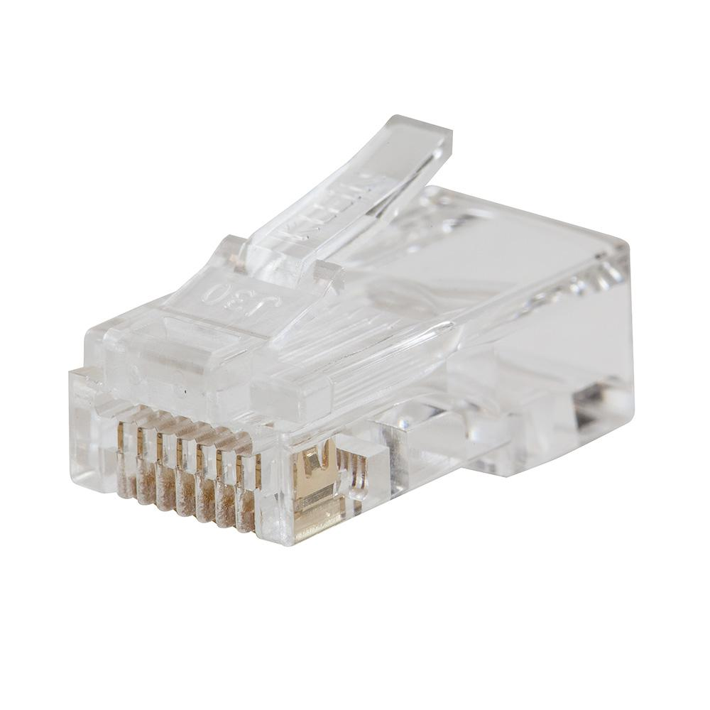 CAT6 Pass-Thru Modular Data Plug (200-Pack)