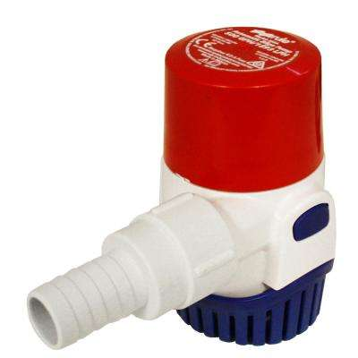 0.016HP Submersible 12-Volt Automatic Bilge Pump
