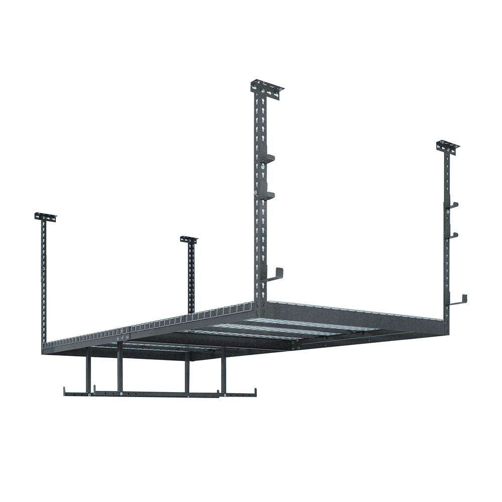 VersaRac Set with 1-Overhead Rack and 8-Piece Accessory Kit (VersaRac, Hanging