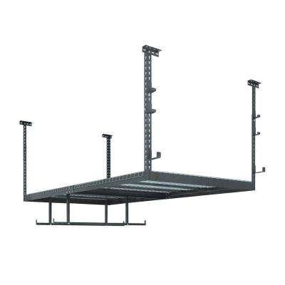 VersaRac Set with 1-Overhead Rack and 8-Piece Accessory Kit (VersaRac, Hanging Bars, J-Hooks)