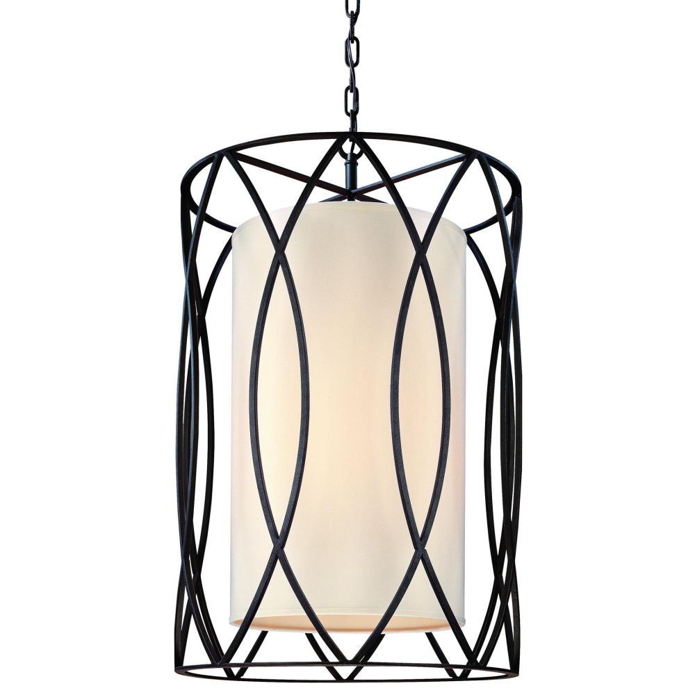 Troy Lighting Sausalito 4-Light Deep Bronze Pendant