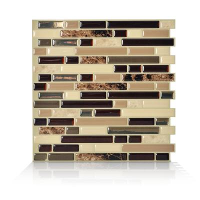 Terrific Peel And Stick Backsplash Wall Decor The Home Depot Beutiful Home Inspiration Truamahrainfo