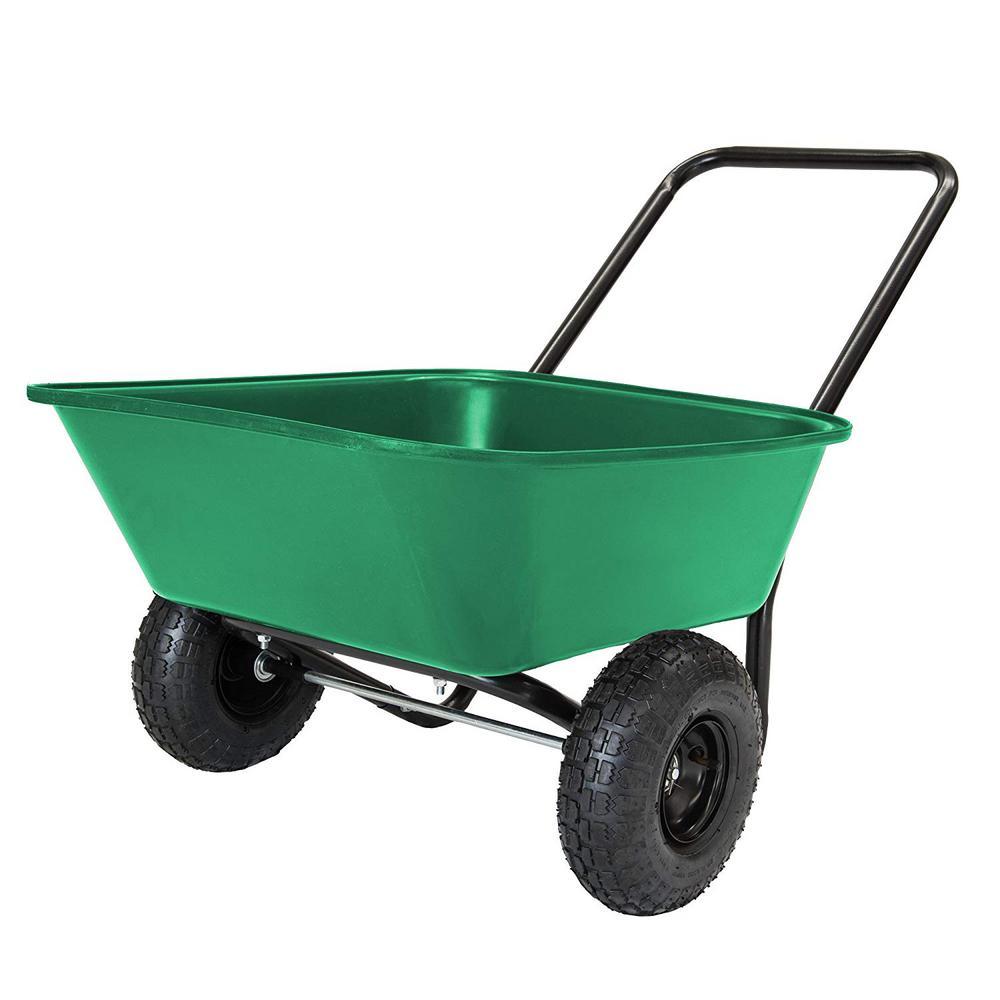 Garden Barrow 3 cu. ft. Poly Garden Cart