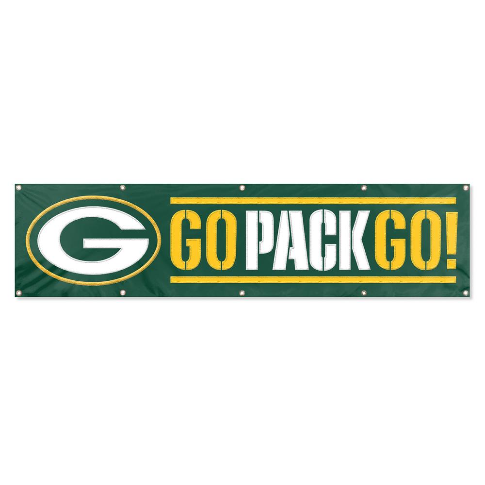 Green Bay Packers Giant 8 ft. x 2 ft. Banner