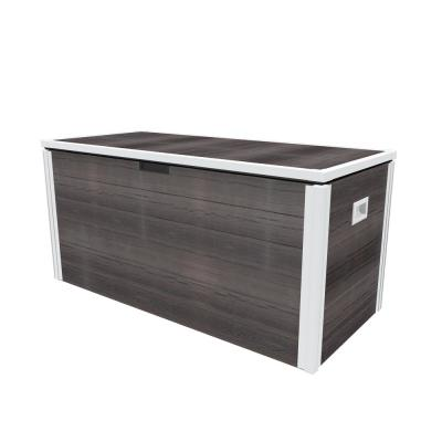 Urbana 87 Gal. Espresso Brown Vinyl Deck Box