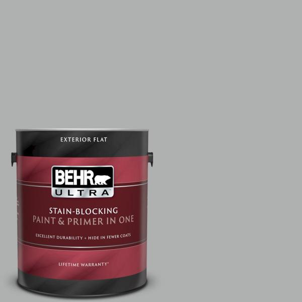 Reviews For Behr Ultra 1 Gal 780f 4 Sparrow Flat Exterior Paint And Primer In One 485401 The Home Depot