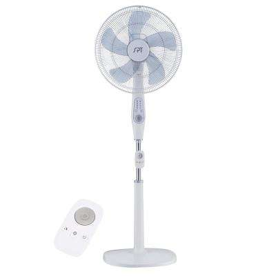 16 in. 12 Speed DC-Motor Energy Saving Stand Fan with Remote
