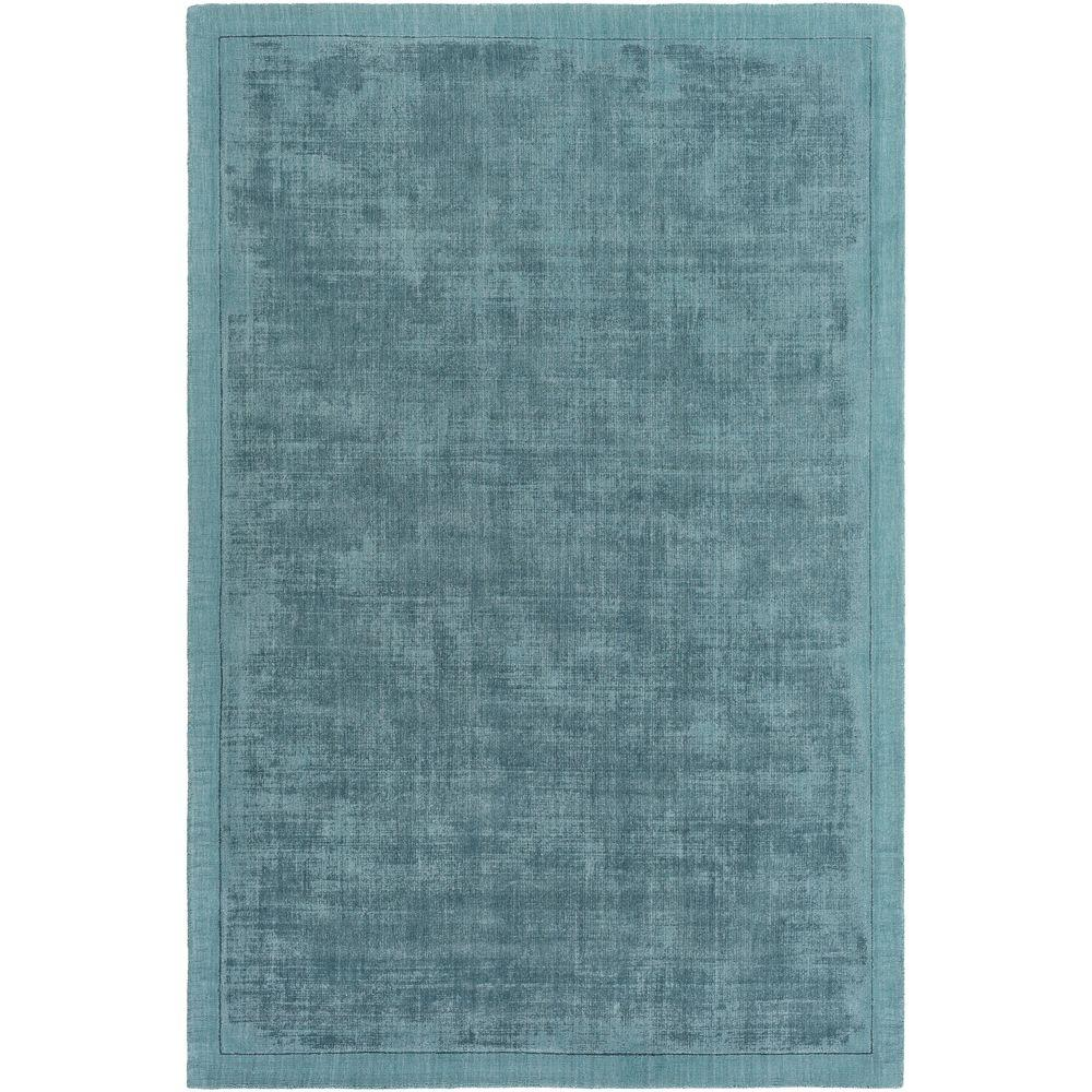 Silk Route Rainey Dusty Blue 8 ft. x 10 ft. Indoor