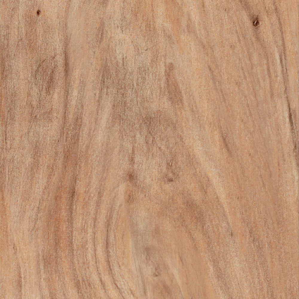 TrafficMASTER Take Home Sample - Apple Blonde Resilient Vinyl Plank Flooring - 4 in. x 4 in.