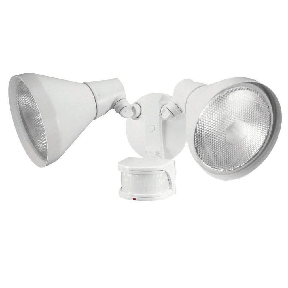 Defiant 110 Degree White Motion Sensing Outdoor Security Light