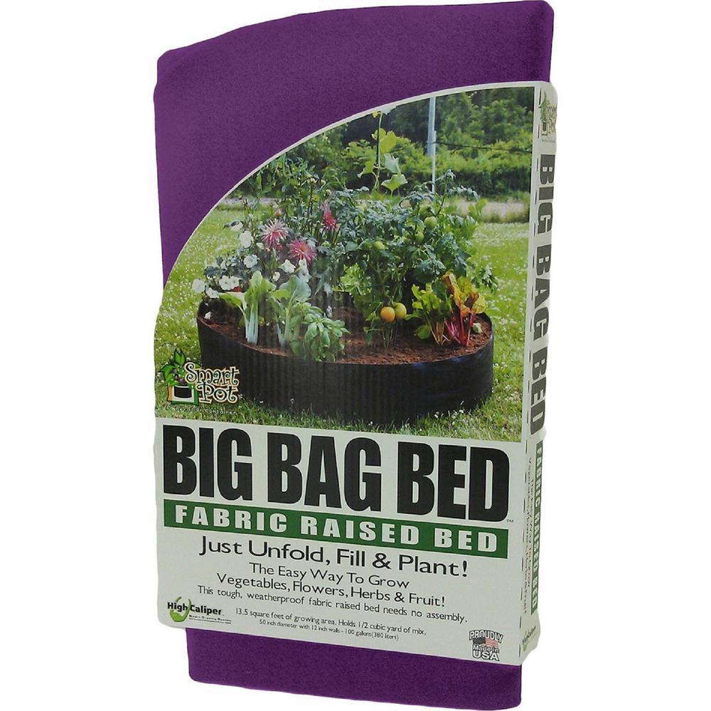 Original Purple Fabric Raised Garden Bed
