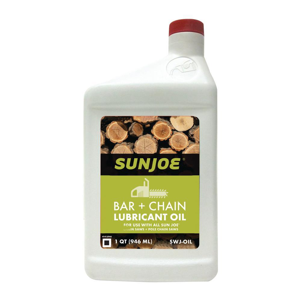 1 qt. Chain Saw Bar, Chain and Sprocket Oil for All Sun Joe Chain Saws