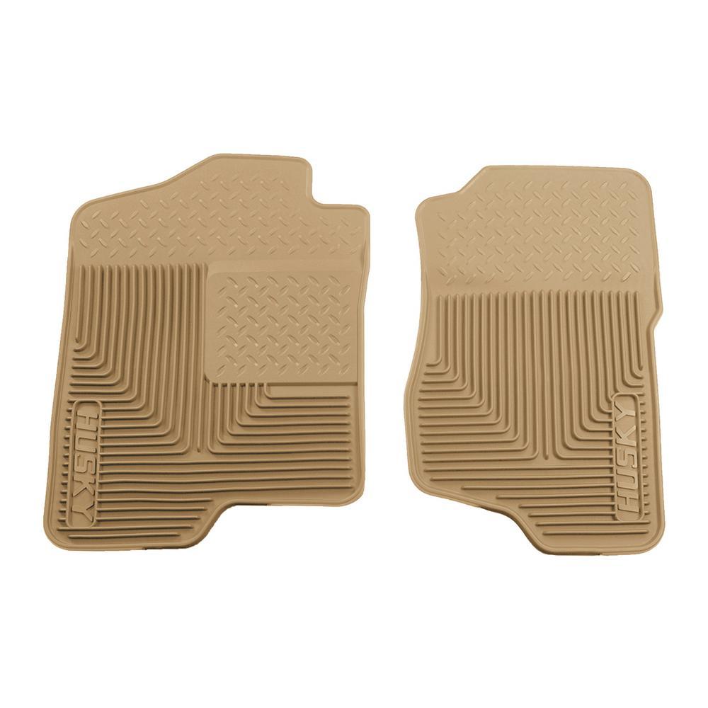 94-01 Ram 1500 Husky Liners 51041 Front Floor Mats Fits 87-91 Blazer 75-86 C20//K20