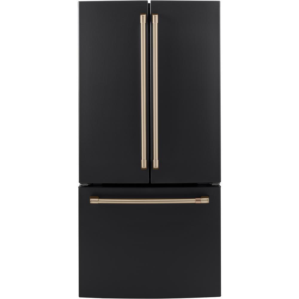 Refrigerator Handle Kit in Brushed Bronze