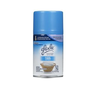 Glade 6.2 oz. Clean Linen Automatic Air Freshener Spray Refill (6-Pack) by Glade