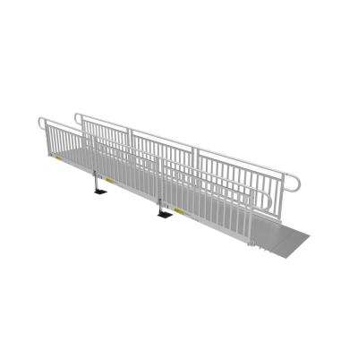 18 ft. Solid Surface Ramp Kit with Vertical Pickets