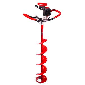 Eskimo Sting Ray 33cc with 8 inch Quantum Ice Auger by Ice Augers