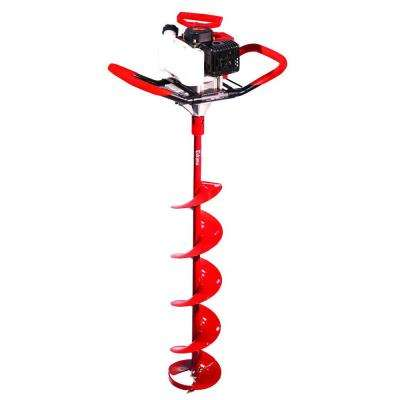 Sting Ray 33cc with 8 in. Quantum Ice Auger