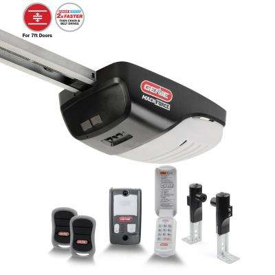 MachForce Plus 2 HPc Screw Drive Garage Door Opener with Added Wireless Keypad