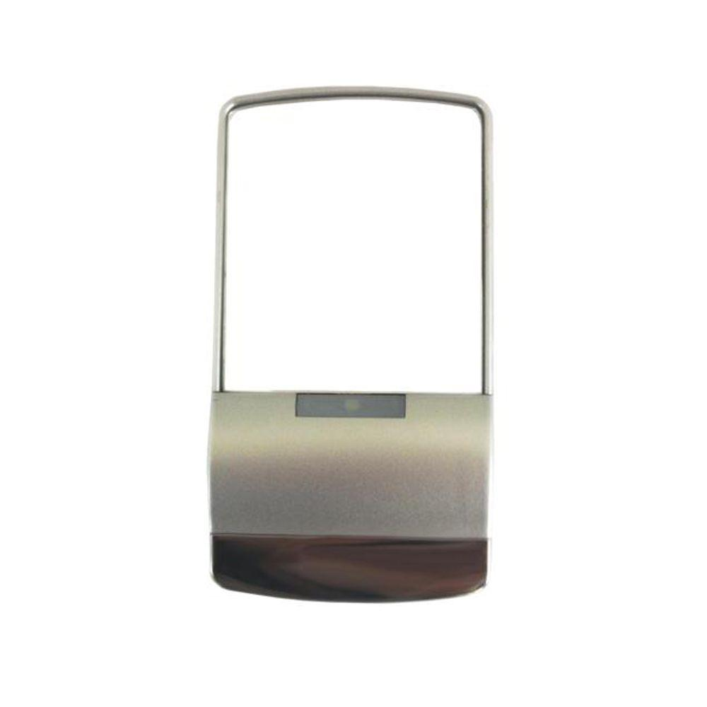 P3 International 2.5 in. x 1 in. Contemporary Touch Illuminated Framed Mirror