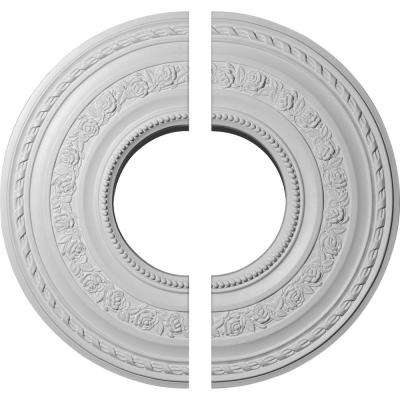 29-3/8 in. O.D. x 11-5/8 in. I.D. x 1-1/8 in. P Anthony Ceiling Medallion (2-Piece)