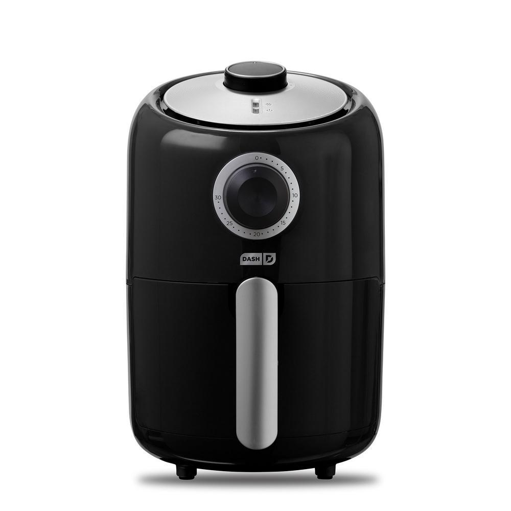 Compact 1.6 Qt. Air Fryer in Black