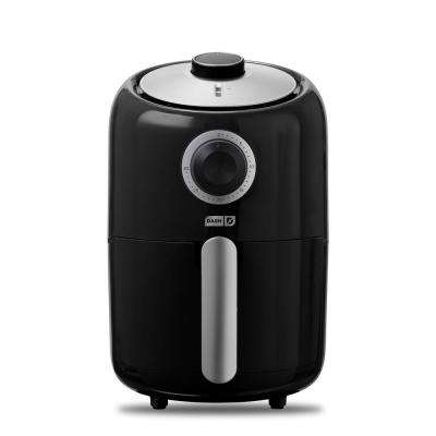 Compact 1.6 Qt. Air Fryer in Black
