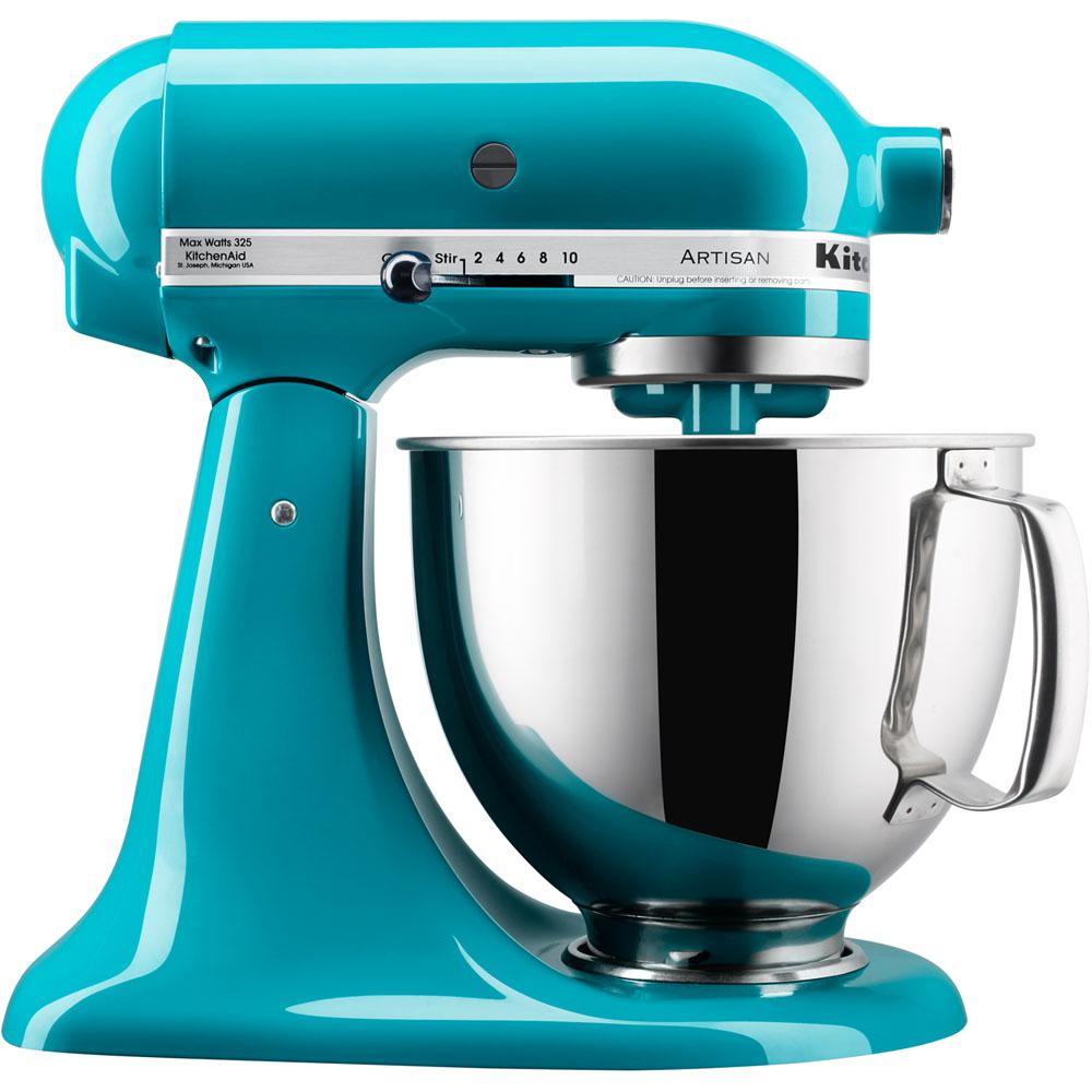 KitchenAid Artisan Series 5 Qt. Tilt-Back Head Stand Mixer in Ocean Drive