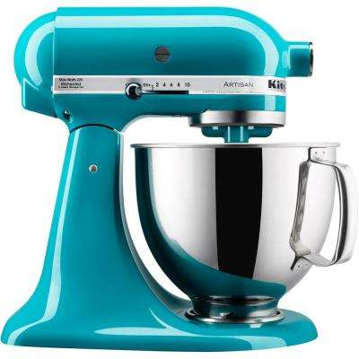 Artisan Series 5 Qt. Tilt-Back Head Stand Mixer in Ocean Drive