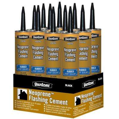 10. oz. Neoprene Flashing Cement Roof Sealant (12-Piece/Case)