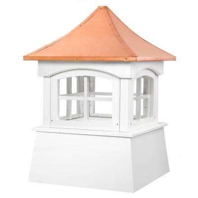 Windsor 22 in. x 32 in. Vinyl Cupola with Copper Roof