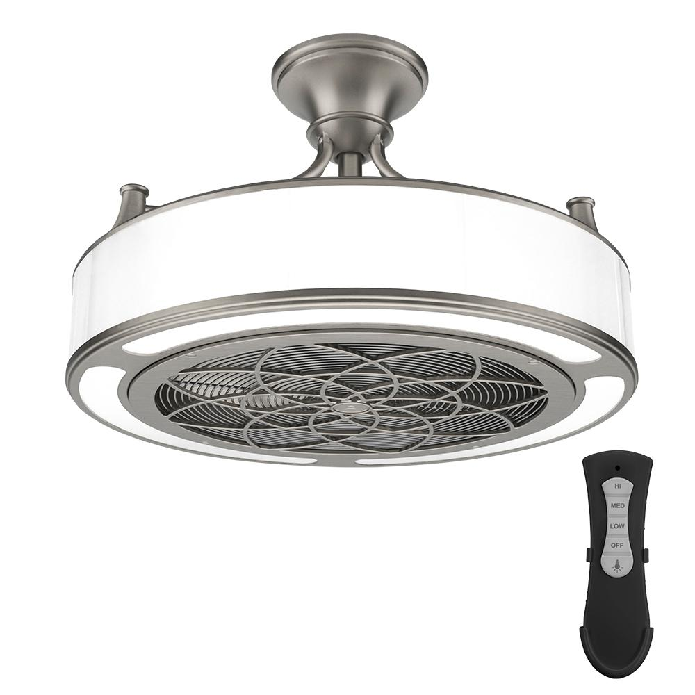 Kitchen Lighting And Ceiling Fans: Stile Anderson 22 In. LED Indoor/Outdoor Brushed Nickel