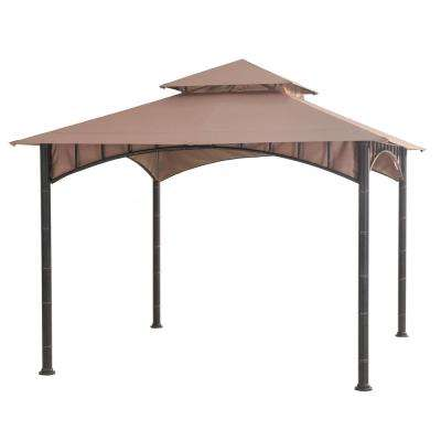 Summer breeze 10 ft. x 10 ft. Soft Top Gazebo
