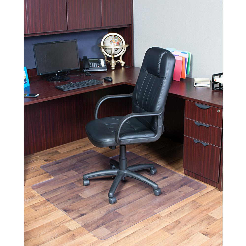 Awesome Dimex 36 In X 48 In Clear Office Chair Mat With Lip For Hard Floors Bpa And Phthalate Free Uwap Interior Chair Design Uwaporg