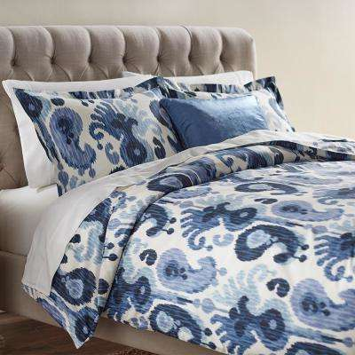 Still Water Indigo Twin Duvet