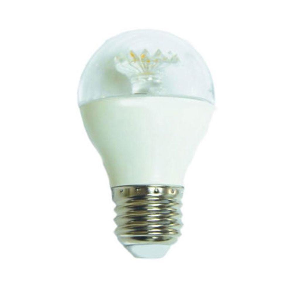 ecosmart 60 watt equivalent g16 5 dimmable clear led light bulb soft white 3 pack g16 5. Black Bedroom Furniture Sets. Home Design Ideas