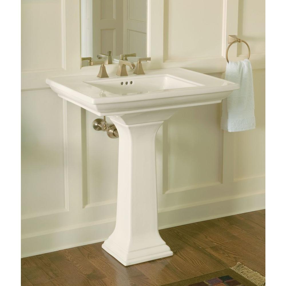 Kohler Memoirs Ceramic Pedestal Combo Bathroom Sink With Stately