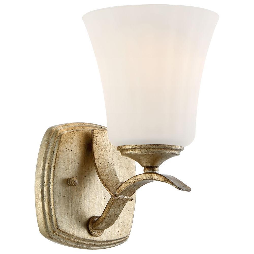 Laurel Estate 1-Light Brio Gold Bath Light