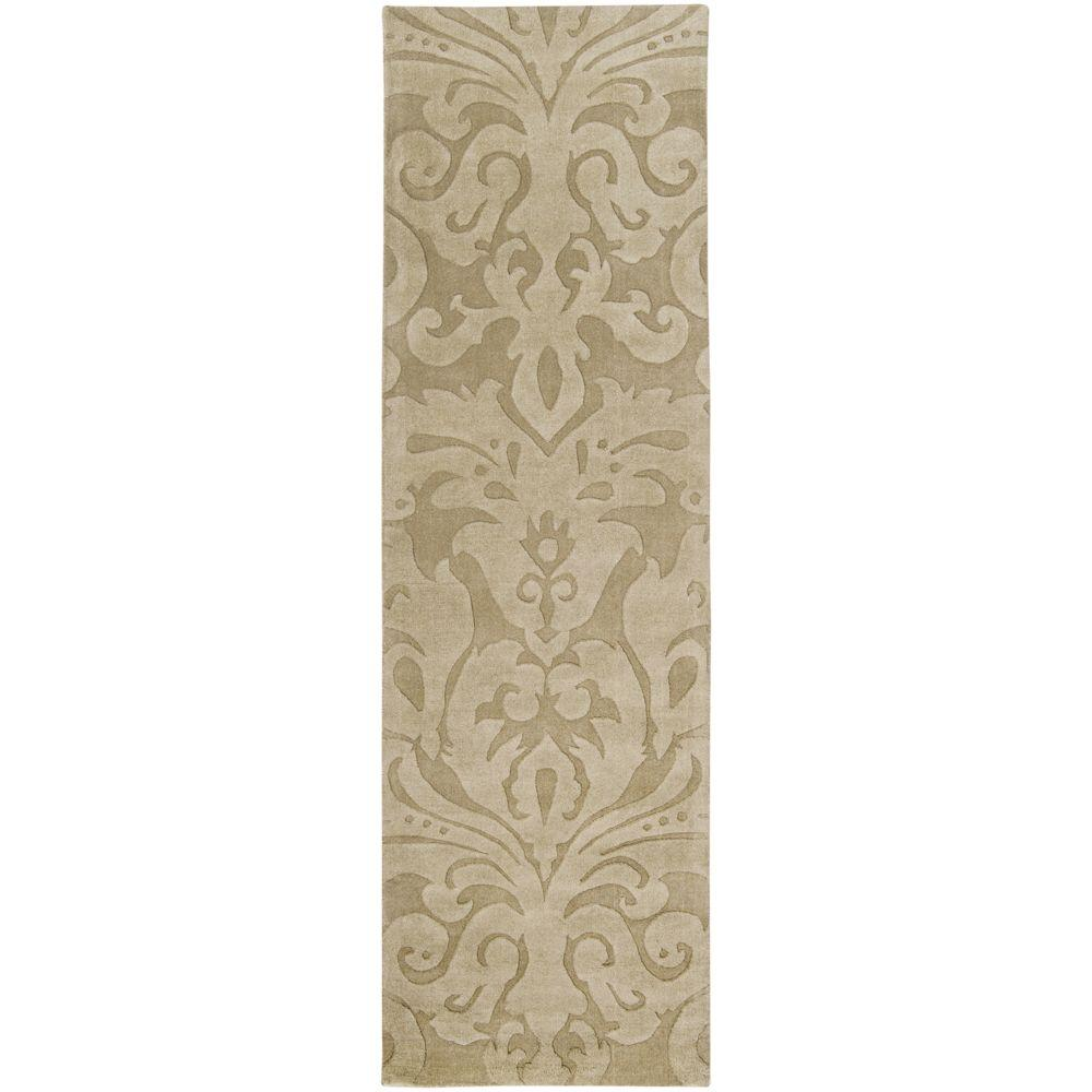 Candice Olson Beige 2 ft. 6 in. x 8 ft. Rug