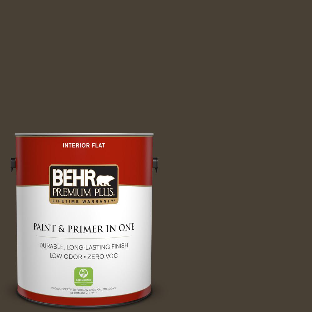 1 gal. #PPU5-20 Sweet Molasses Zero VOC Flat Interior Paint