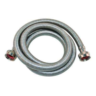 """2x Rubber Washing Machine Hose 6ft Long,5//8 inches With 3//4/"""" COPPER Connectors"""