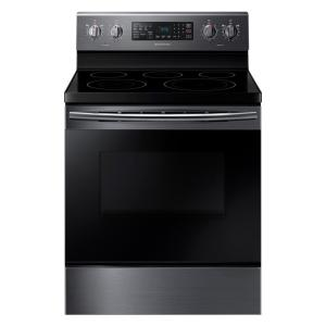 single oven electric range with - Downdraft Electric Range