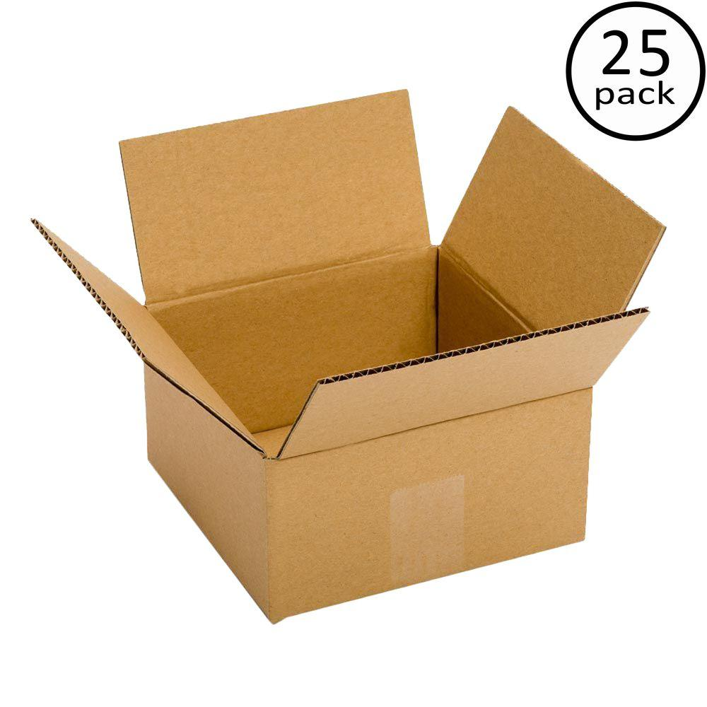 6 in. x 6 in. x 4 in. 25-Box Bundle
