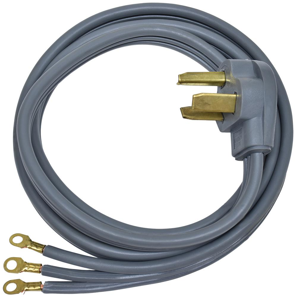 Ez Flo 6 Ft 10 3 Wire Dryer Cord 61251 The Home Depot Wiring A