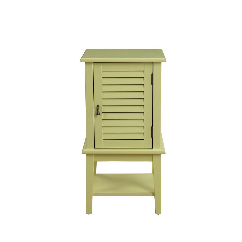 Hilda Light Yellow Storage Cabinet