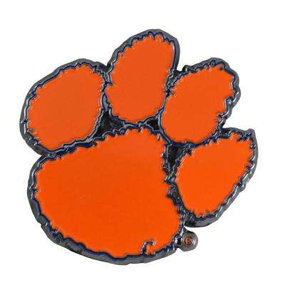 3 in. x 3.2 in. NCAA Clemson University Color Emblem